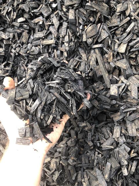 Cypress Colour Chip Mulch Black