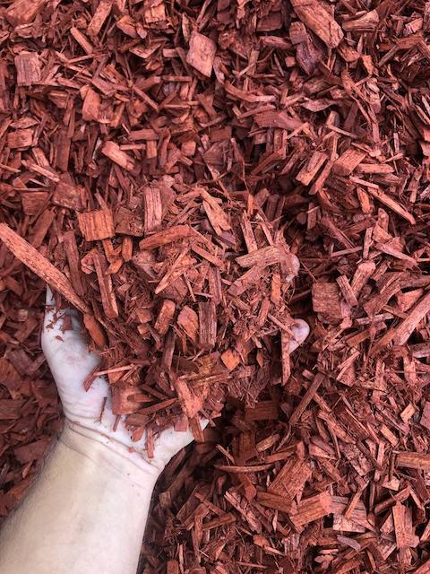 Cypress Colour Chip Mulch Red 2